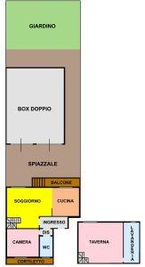 planimetria Appartamento Vendita Melegnano