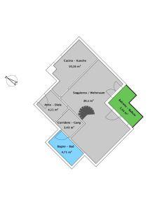 planimetria Appartamento Vendita Merano