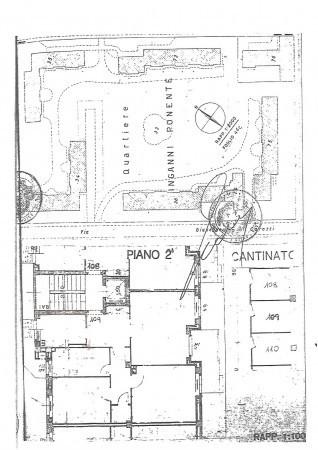 foto Planimetria appartamento Trilocale via Giuseppe Carozzi, Milano