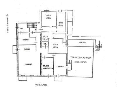 planimetria Appartamento Vendita Moncalieri
