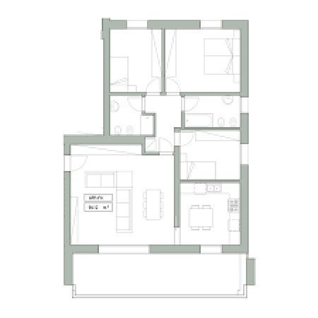 foto  Appartamento via Collina, 13, Monsano
