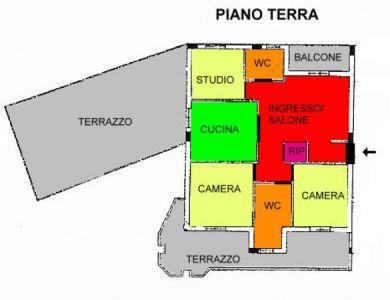 planimetria Appartamento Vendita Montalto Uffugo