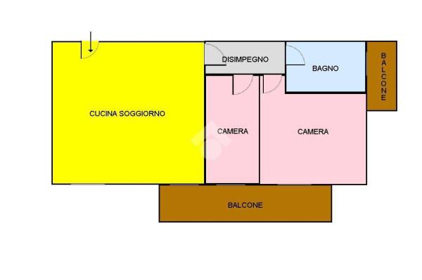 foto GRANDINETTI GIADA Trilocale quarto piano, Montalto Uffugo