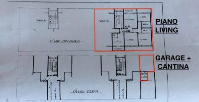 planimetria Appartamento Vendita Monteroni d'Arbia