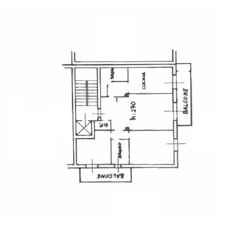 foto scheda appartamento Trilocale via della Villora 17, Monza