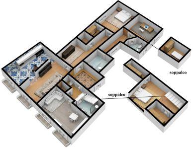 planimetria Appartamento Vendita Napoli