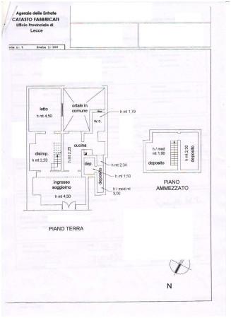 Vendita appartamento nard trilocale in via chiodo da ristrutturare piano terra - Stile immobiliare nardo ...