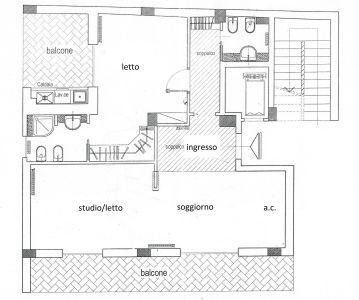 planimetria Appartamento Vendita Nettuno