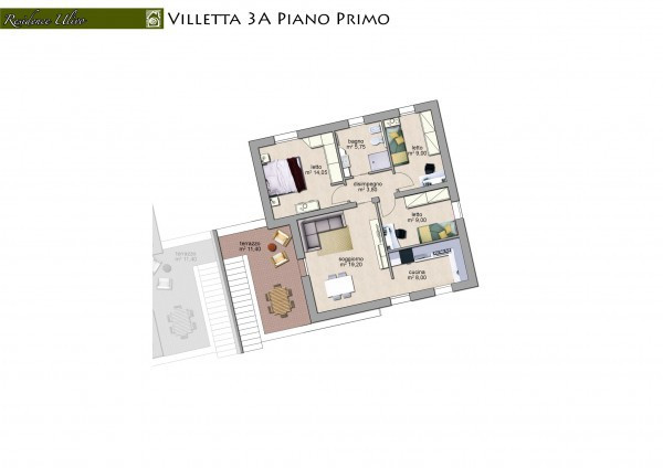 foto  Appartamento via Vertuani, Occhiobello