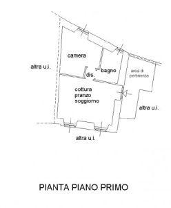 foto planimetria Bilocale via Oratorio, Olgiate Molgora