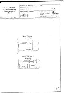 planimetria Appartamento Vendita Ortona
