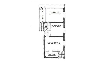 planimetria Appartamento Vendita Paderno Dugnano