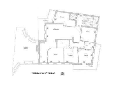 planimetria Appartamento Vendita Padova