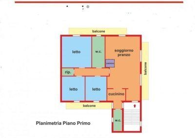 planimetria Appartamento Vendita Palagianello