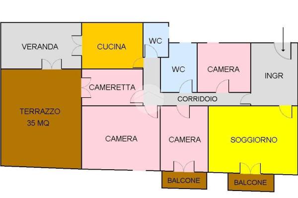Vendita Appartamento Palermo. Quadrilocale in via Giovanni.... Da ...