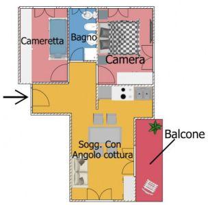 planimetria Appartamento Vendita Pamparato