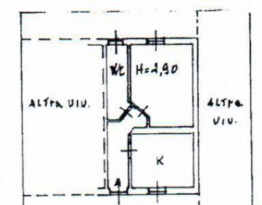 planimetria Appartamento Vendita Pavia