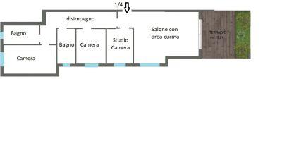 planimetria Appartamento Vendita Pianoro