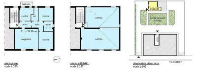 planimetria Appartamento Vendita Pieve San Giacomo