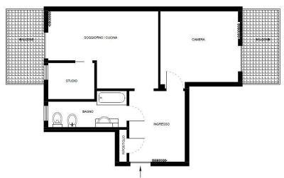 planimetria Appartamento Vendita Poirino