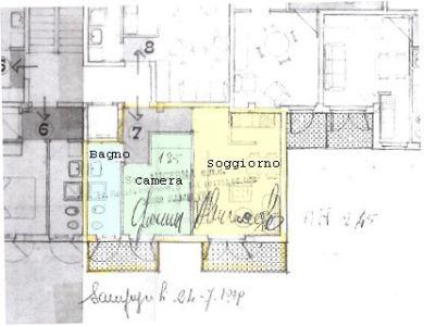 planimetria Appartamento Vendita Pontechianale