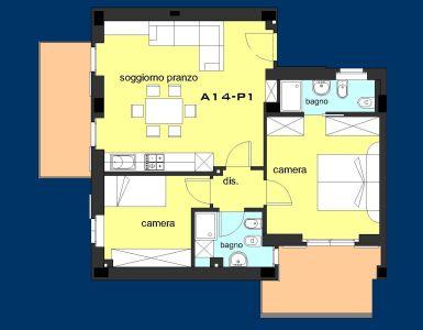 planimetria Appartamento Vendita Porto San Giorgio