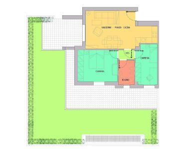 planimetria Appartamento Vendita Reggio Emilia