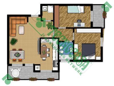 planimetria Appartamento Vendita Rho