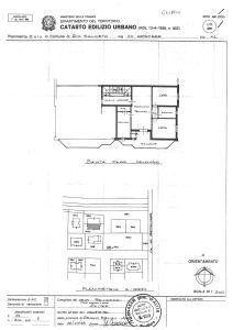 planimetria Appartamento Vendita Rio Saliceto