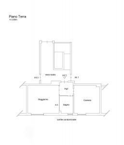 planimetria Appartamento Vendita Roma