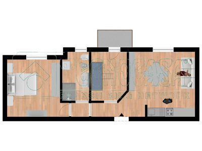 planimetria Appartamento Vendita Rudiano