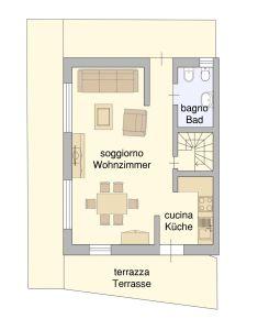 planimetria Appartamento Vendita San Candido