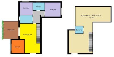 planimetria Appartamento Vendita San Donato Milanese
