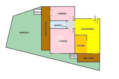 planimetria Appartamento Vendita San Giorgio a Cremano