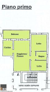 planimetria Appartamento Vendita San Giorgio di Mantova
