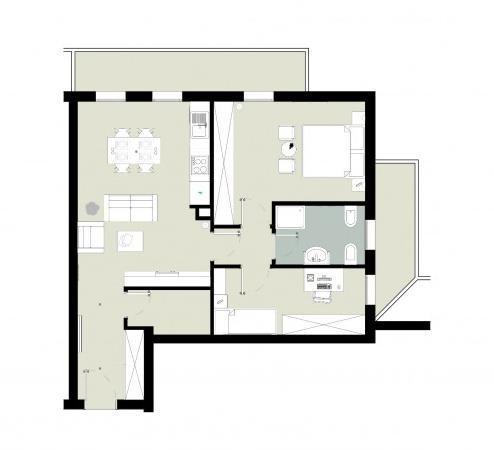 foto  Appartamento in Vendita a San Giorgio di Mantova