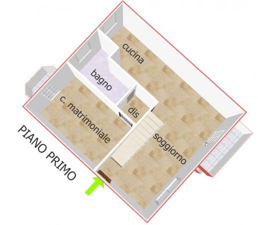 foto piano primo Quadrilocale via Roma, San Giovanni in Marignano