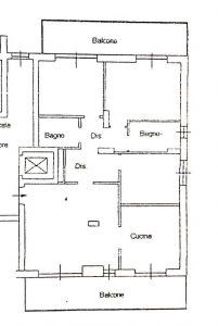 planimetria Appartamento Vendita San Giuliano Milanese