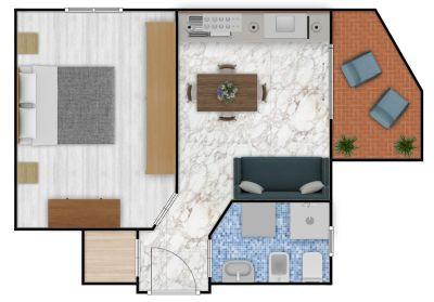 planimetria Appartamento Vendita San Lorenzo al Mare