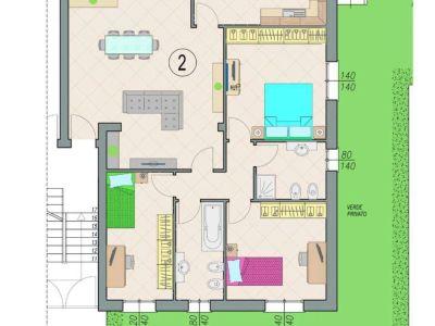 planimetria Appartamento Vendita San Martino in Rio