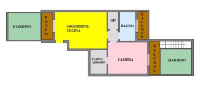 planimetria Appartamento Vendita San Zenone al Lambro