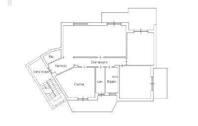 planimetria Appartamento Vendita Sant'Agata li Battiati