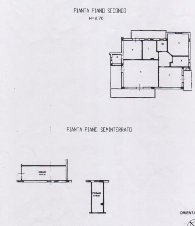 foto planimetria Appartamento via Roma, Sant'Omero
