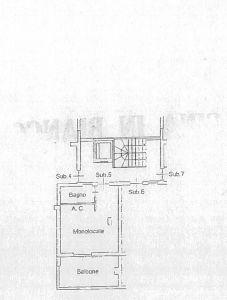 planimetria Appartamento Vendita Santa Marinella