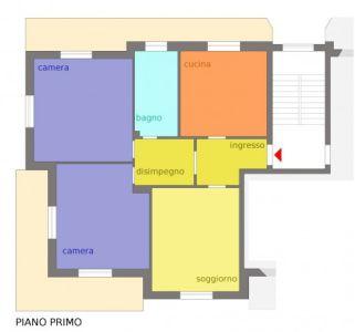 planimetria Appartamento Vendita Santa Vittoria D'Alba