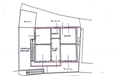 planimetria Appartamento Vendita Sedrina