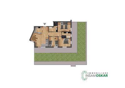 planimetria Appartamento Vendita Selva di Val Gardena