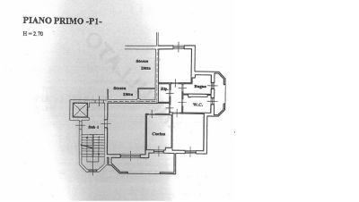 planimetria Appartamento Vendita Settala