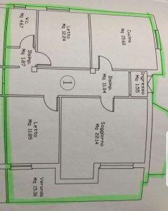 planimetria Appartamento Vendita Siniscola