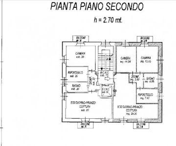 planimetria Appartamento Vendita Sondalo